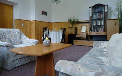 Woonkamer appartement 4