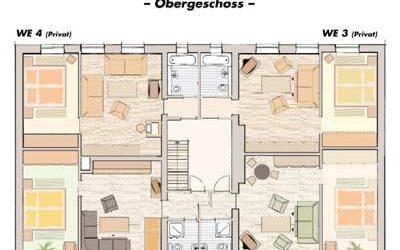 Plattegrond verdieping 1